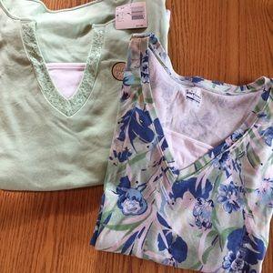 NWT Basic Editions plus size 3x spring shirts